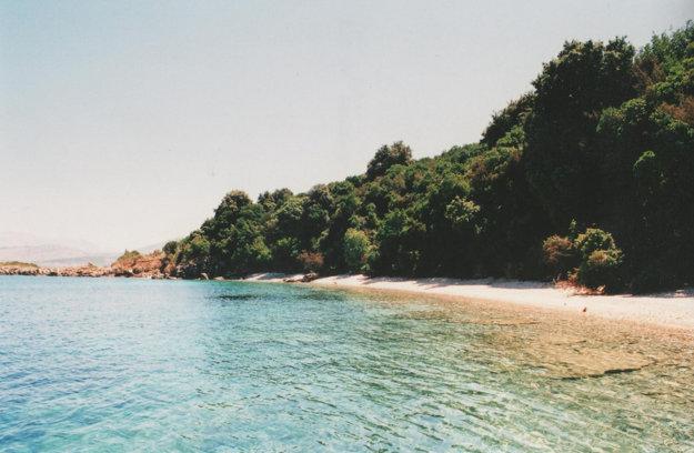 Pobrežie ostrova Korfu ponúka veľa kvalitných pláží.