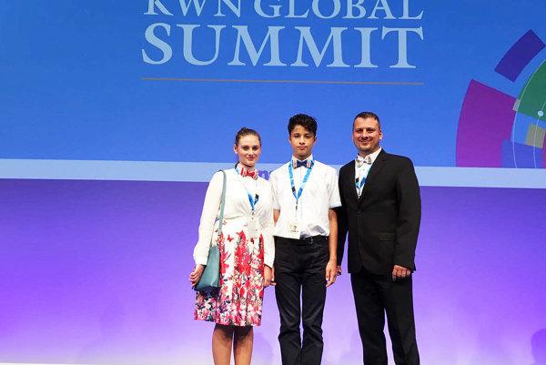 Na samite v Japonsku.