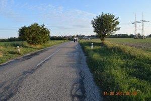 Nehoda sa stala medzi obcami Hoste a Majcichov.