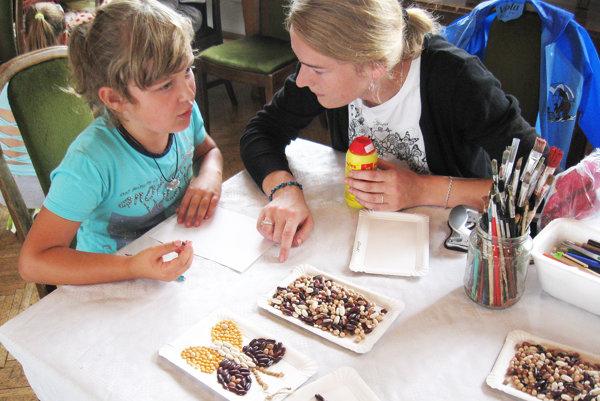 Aby sa najmenší návštevníci festivalu nenudili, organizátori pre nich pripravili rôzne hry.