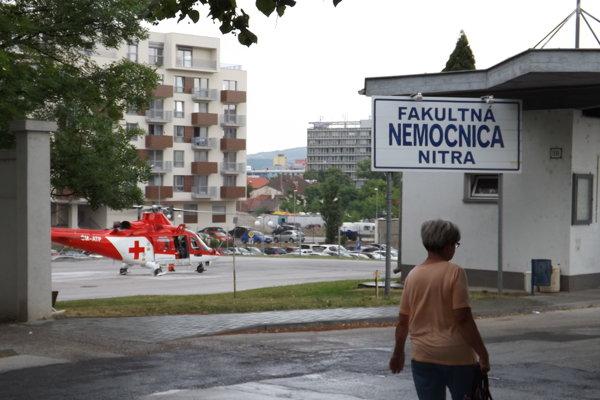 V nemocnici bude aj nový heliport - na streche chirurgického pavilóna.