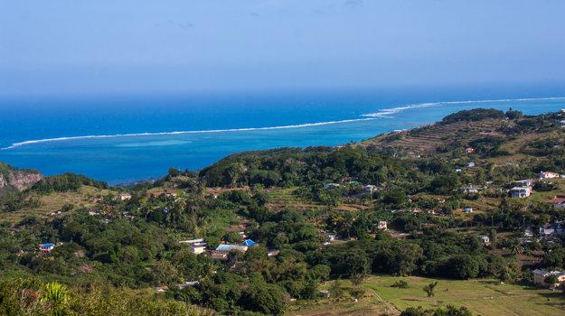 Ostrov Rodrigues, Maurícius.