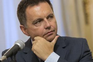Peter Kažimír. Minister financií SR