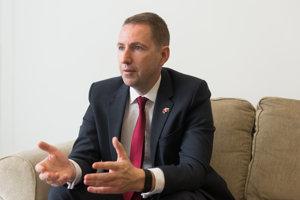 Andy Garth, britský veľvyslanec na Slovensku.
