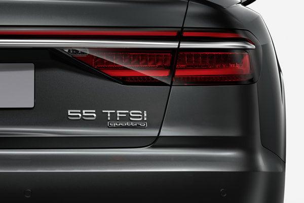 Audi A8 s novým označením