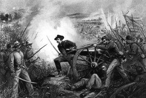 Americká občianska vojna trvala štyri roky.