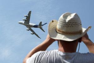 Najväčšie dopravné lietadlo na svete AIRBUS A 380.