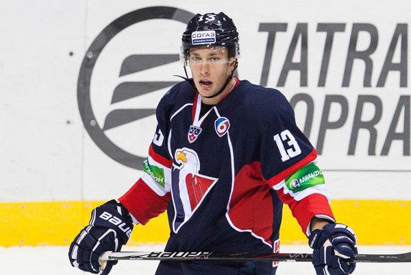 Útočník Tomáš Mikúš má skúsenosti aj z KHL.