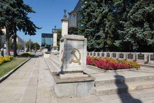 Pamätník na Námestí osloboditeľov.