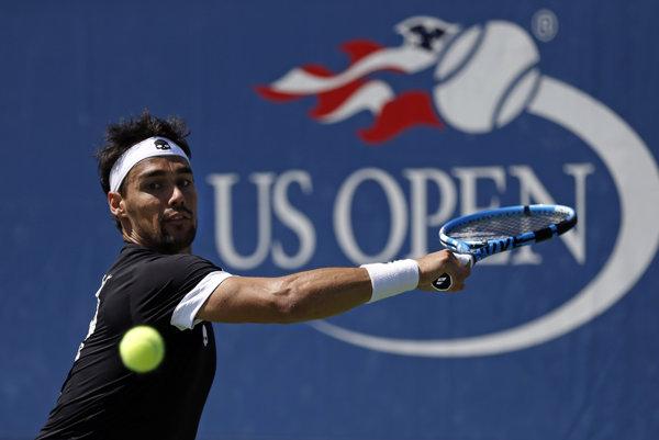 Fabio Fognini za svoje účinkovanie na US Open nedostane nič.