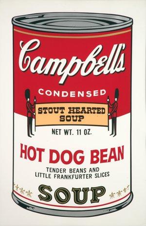 Andy Warhol: Campbellova polievka II, 1969, sieťotlač.