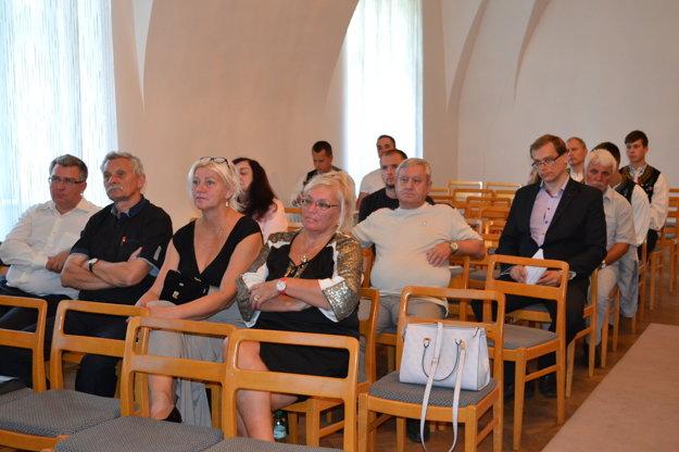 Na vedeckej konferencii v Humennom.