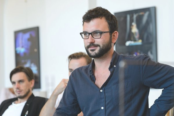 Umelecký šéf SKD a režisér Lukáš Brutovský.