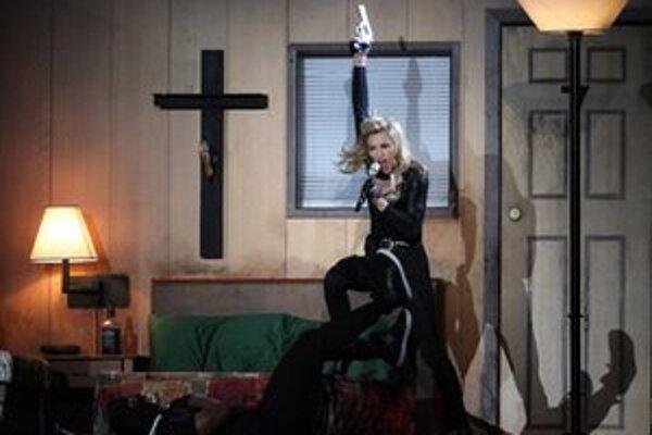 Vystúpenie Madonny v Bruseli.