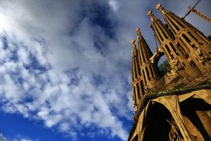 Katedrála Sagrada Familia. Ilustračná fotografia.