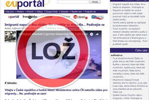 Euportal.cz zverejnil video s klamlivým titulom.