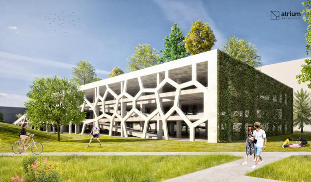 Kapitulík presadzuje na žilinských sídliskách výstavbu zelených parkovacích domov sihriskom alebo parkom.