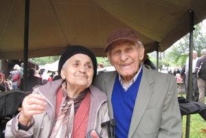 Manželia Štefan a Mária Skladanovci patria k pôvodným obyvateľom Horných Opatoviec.