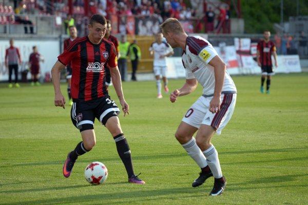 Erik Jirka sa proti Prešovu presadil dvakrát a zabezpešil svojmu mužstvu cenné tri body.