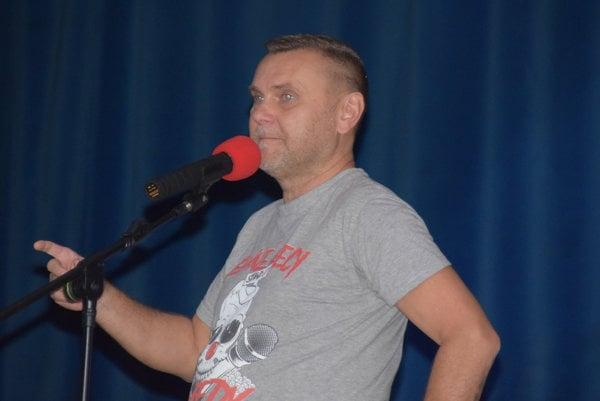 Ivo Ladižinský v Čadci.
