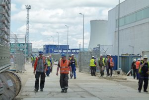 Tretí blok elektrárne je hotový na 95 percent.