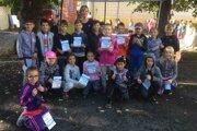 Školáci zo ZŠ M. R. Štefánika v Lučenci sa zapojili do zaujímavého projektu.
