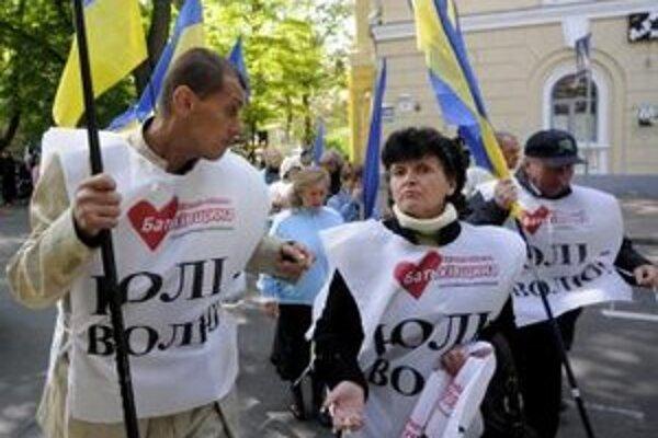 Stúpenci Tymošenkovej.