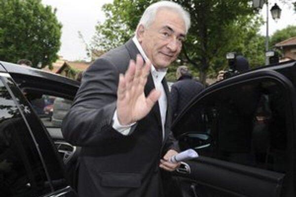 Strauss-Kahn počas francúzskych prezidentských volieb.