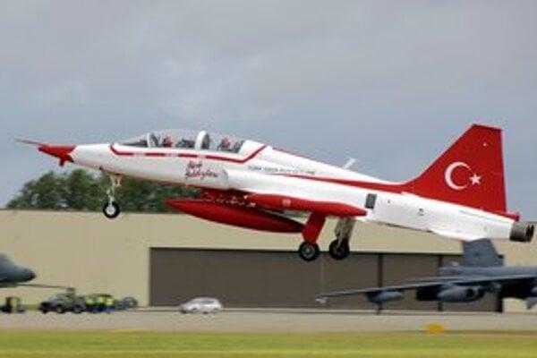 Northrop F-5 tureckého letectva.