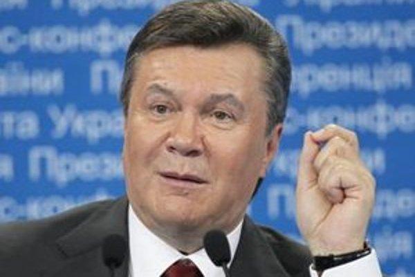 Proruský prezident Viktor Janukovyč.