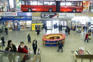 Autobusová stanica v roku 2007.