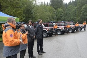 Jednásť áut bude pomáhať pri zásahoch horských záchranárov.