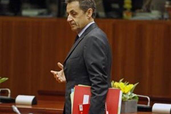 Francúzsky prezident Nicolas Sarkozy.