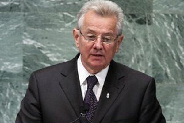 Maďarský prezident Pál Schmitt.
