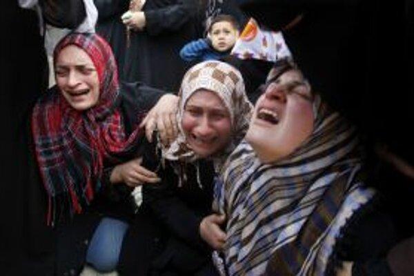 Palestínske ženy.