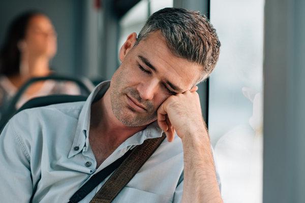 Pri depresii sú vyčerpávajúce aj tie najbežnejšie úkony. Napríklad cesta autobusom.