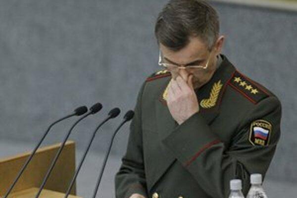 Minister vnútra Nurgalijev musel situáciu vysvetľovať poslancom.