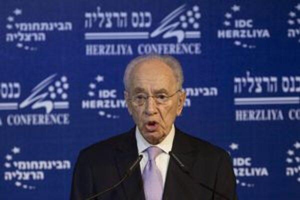 Izraelský prezident Šimon Peres.