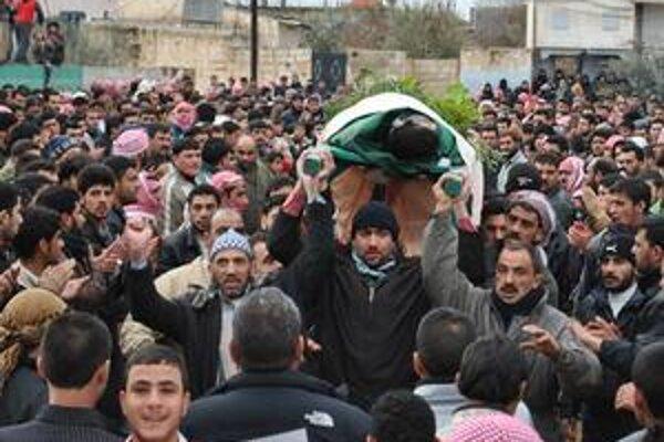 Mŕtvych v Sýrii pribúda.