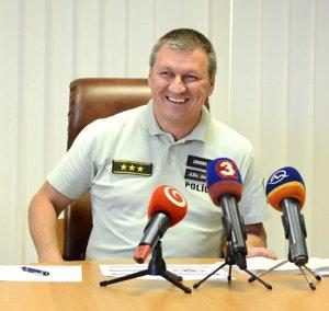Juraj Leško. Policajný šéf je s prácou kolegov spokojný.