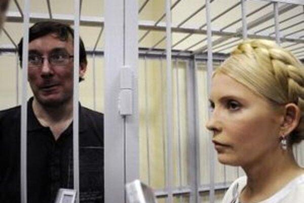 Lucenko a Tymošenková sa v máji minulého roka stretli na súde v Kyjeve.