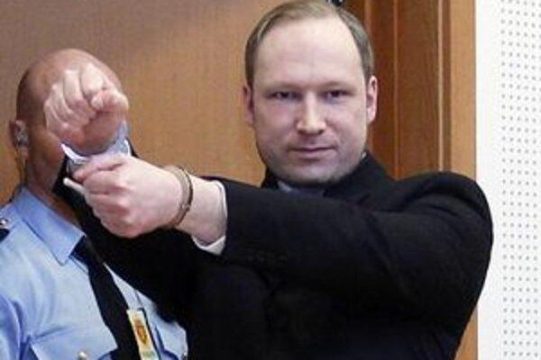 Nórsky masový vrah Anders Behring Breivik.