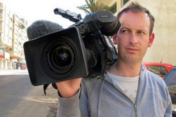 Francúzsky kameraman Gilles Jacquier, ktorého zabili v Sýrii.