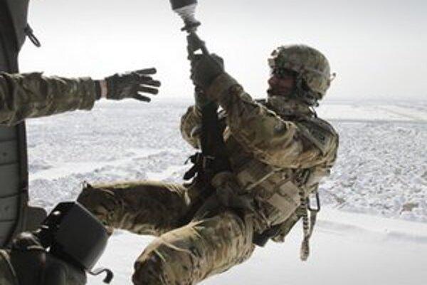 Výcvik americkej armády.