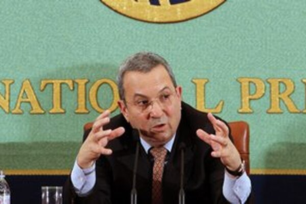 Izraelský minister obrany Ehud Barak.