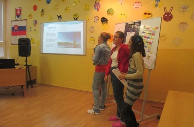 Deň európskych jazykov v škole na Školskej ulici v Holíči.