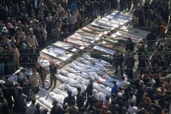 V Sýrii zomierajú tisíce ľudí.