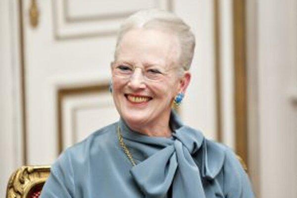 Dánska kráľovná 71-ročná Margaréta II.