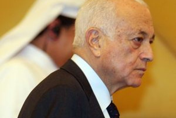 Šéf Ligy arabských štátov Nabíl al-Arabí.
