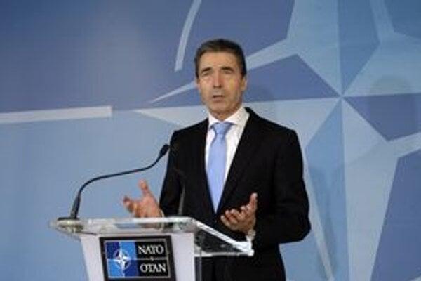 Generálny tajomník NATO Anders Fogh Rasmussen.